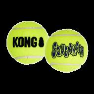Kong Air Squeaker Tennis Ball L 7,6 cm 2stuks
